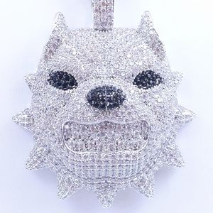 """Icy Pit-Bull + 20"""" Rope Chain"""